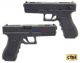 Страйкбольный пистолет CYMA Glock 18C AEP