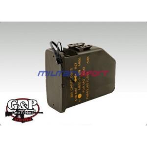 Страйкбольный магазин GP 609 M249 Box Magazine