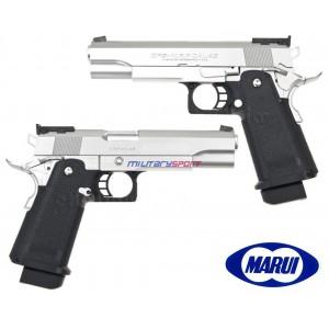 Страйкбольный пистолет Marui HI-Capa 5.1 Custom Dual stainless Silver