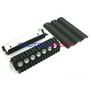 GD M4-A1 RAS (Hard Anodizing/Flat Black) (RAS-02)