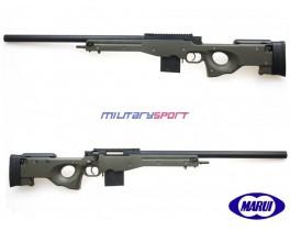 Страйкбольная винтовка Tokyo Marui  L96AWS GREEN STOCK