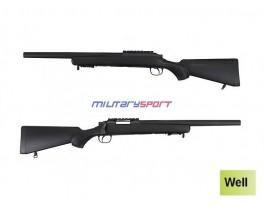 Страйкбольная винтовка Well G 24 Gas Sniper Rifle (оптика и сошки в комплект не входят)