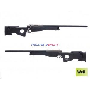Страйкбольная винтовка Well G21 Gas Sniper Rifle ( оптика и сошки в комплект не входят)