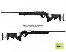 Страйкбольная винтовка Well G25 Gas Sniper Rifle (оптика и сошки в комплект не входят)