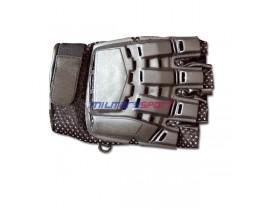 Перчатки с защитой на суставы (с открытытми пальцами) Halffinger (Германия) размер:M  22104