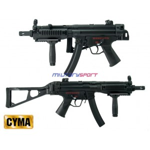 Страйкбольный автомат CYMA CM049 Full Metal MP5 with UMP folding stock (blowback version)