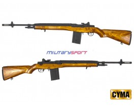 Страйкбольный автомат CYMA M14 With Real Wooden Stock (CM032C)