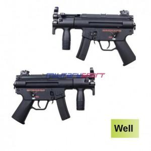 Страйкбольный автомат Well MP5K GBB