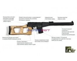 Страйкбольная винтовка ВСС (Винторез)