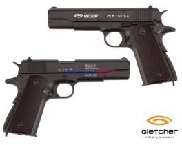 Страйкбольный пистолет Gletcher CLT 1911-A Soft Air