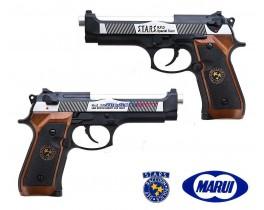 Страйкбольный пистолет Beretta STARS RPD silver-black