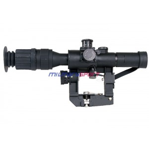 Прицел оптический UFC 4x26  Red Illuminated Sniper Scope